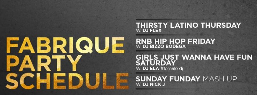 Fabrique Weekend Bars Split