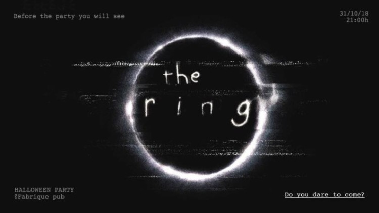 """THE RING"" Halloween Party Events Split"