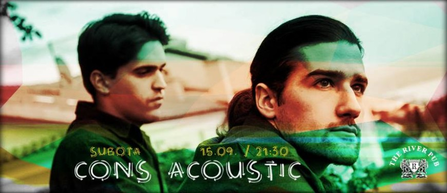 Subota 15.09. CONS Acoustic @ River pub