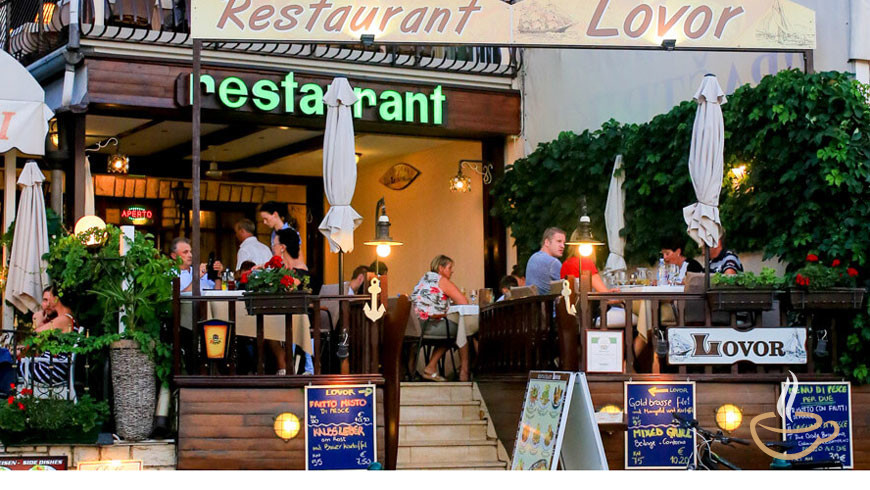 Lovor Restaurants Rovinj